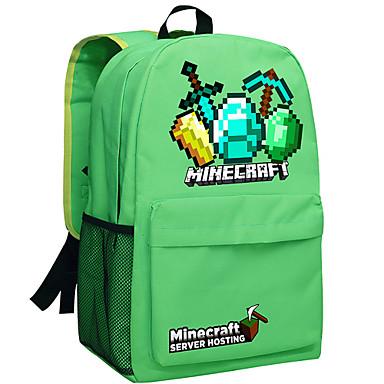 092cb0e6279 24L ημέρα Minecraft σακίδιο enderman πακέτο νέας σχολική τσάντα νάιλον  σακίδιο σακίδιο παιχνίδι πράσινο 050 3849553 2019 – $39.99