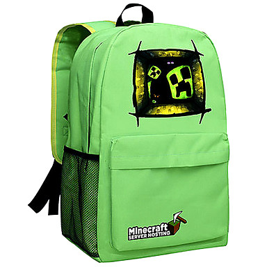 5a9a1cff130 50L ημέρα Minecraft σακίδιο enderman πακέτο νέας σχολική τσάντα νάιλον  σακίδιο σακίδιο παιχνίδι πράσινο 052 3849552 2019 – $39.99