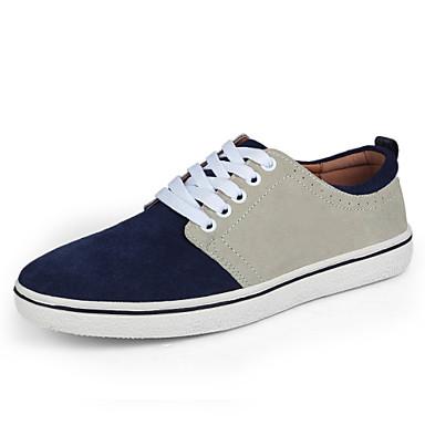 6bea9aa3cf Sapatos Masculinos - Tênis Social - Azul   Cinza - Couro - Casual de  4220051 2019 por  49.99