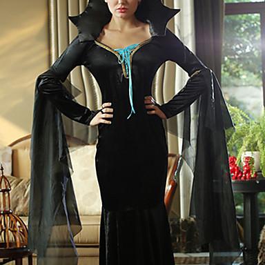 Halloween - Film- och TV-kostymer/Vampyr/Superhjältar/Ängel & Djävul - Dräkter/Kostymer - med Kjol - till Kvinna