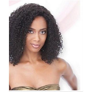 6dd0f190106 in stock 10 30inch afro kinky curly lace front wigs 130 density brazilian  virgin human hair u part wig for black women #04006667