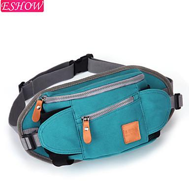 cintura retro bolso paquete femenino moda lienzo la de de deporte WAqYw4UB