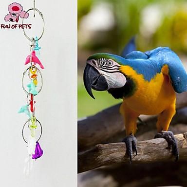 Bärbar - Metall/Plast - Fågelleksaker - till För Fåglar