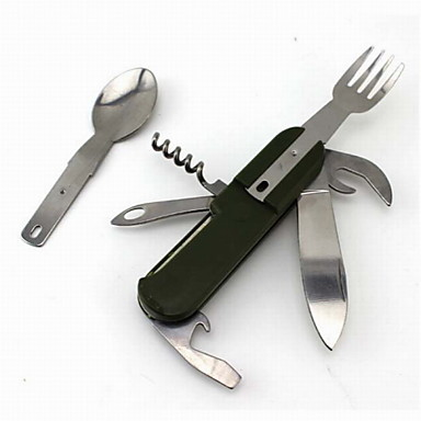 Flasköppnare / Knivar / Multiverktyg Multifunktion, Bekväm för Camping / Utomhus / Resor - Rostfritt stål / ABS