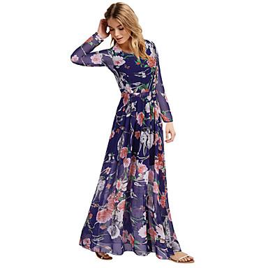 női szexi beach party alkalmi virágos sifon maxi ruha 3869233 2019 –  45.80 fa8fade19c