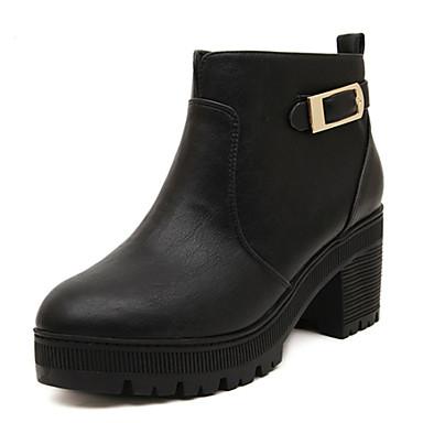 Zapatos de mujer Tacón Robusto Exterior Tacones Botas Exterior Robusto de57b5