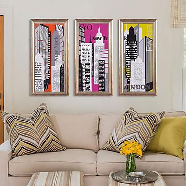 impresión de la lona con el marco para el estilo moderno y ...