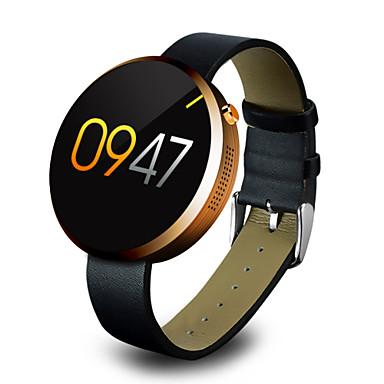 ดูสมาร์ท iOS Android GPS ขอสัมผัส ตรวจสอบอัตรการเต้นของหัวใจ มาตรวัดจำนวนก้าว การดูแลสุขภาพ กล้องถ่ายรูป นาฬิกาปลุก รายละเอียด