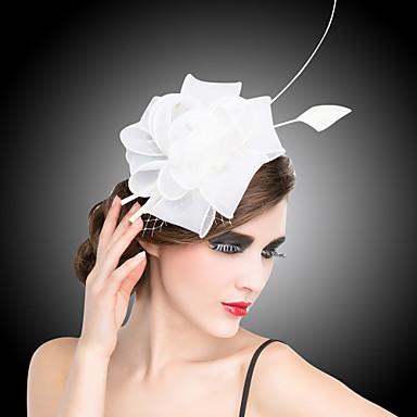 povoljno Party pokrivala za glavu-Kristal / Tekstil / Organza Kentucky Derby Hat / tijare / Fascinators s 1 Vjenčanje / Special Occasion / Zabava / večer Glava / Cvijeće