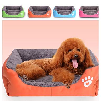 preiswerte Hundebetten & Decken-multi color Polyester niedlich Kastenform Haustierbett für Hunde Katzen 58 * 45 * 14 cm / 23 * 18 * 6 inch