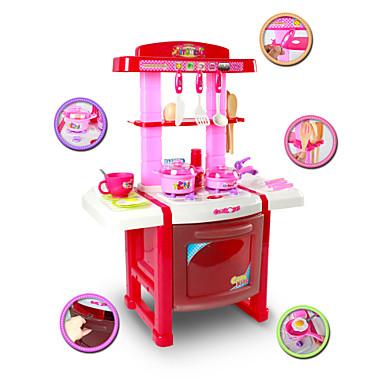 kök Playset, barn lekstuga leksaker, imitera leksaker, scenariosimulering, infall leksak