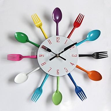 Kitchen Utensil Clock Sale