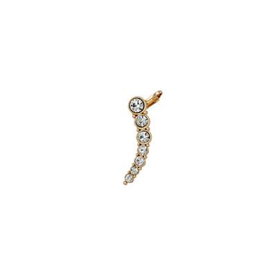 levne Dámské šperky-Dámské Ušní manžety Štras Umělé diamanty Náušnice Šperky Stříbrná / Zlatá Pro Svatební Párty Denní Ležérní Sport