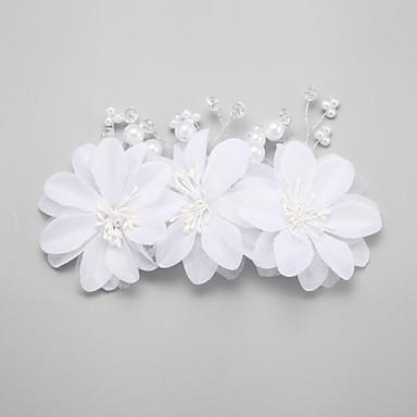 Pärla / Oäkta pärla / Legering Hair Combs / Hårklipp med 1 Bröllop / Speciellt Tillfälle Hårbonad