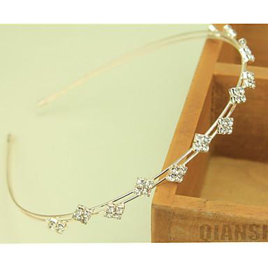 Sydkorea importerade hårnål strass pärlstav huvud hoop dekorationer små kristaller hårband kanttyp