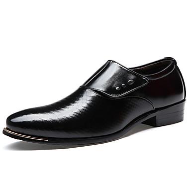 hombre zapatos cuero primavera verano otoño oxfords tachonado para
