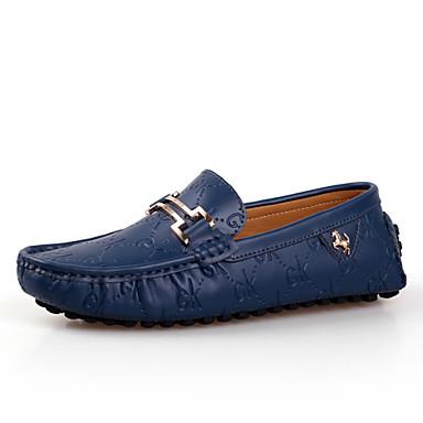 Hombre Zapatos Ante Primavera / Otoño Confort Zapatos de taco bajo y Slip-On Negro xggCcHNcS