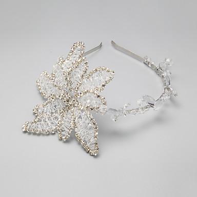 Bergkristall / Legering pannband med 1 Bröllop / Speciellt Tillfälle Hårbonad