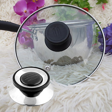 cheap Kitchen Utensils & Gadgets-Universal Cookware Pot Pan Lid Replacement Screw Handle Circular Utensil Cover Holding Knob
