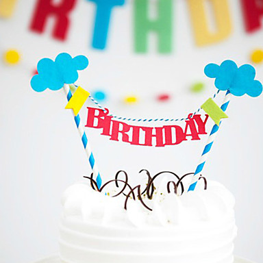 Happy Birthday Cake Bunting Banner Kit DIY Topper Decoration 4047656 2019 299