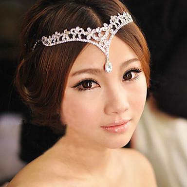 povoljno Party pokrivala za glavu-Legura Lanac glave s 1 Vjenčanje / Special Occasion Glava