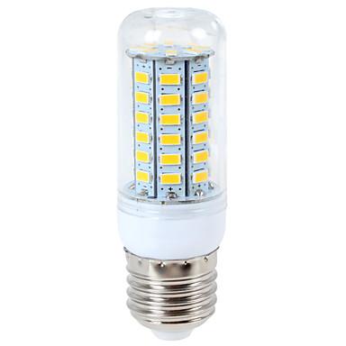 preiswerte LED-Kolbenlichter-ywxlight® 1200 lm e14 g9 e26 / e27 led mais lichter 56led 5730smd warmweiß kaltweiß led glühbirne ac 110-130 v ac 220-240v