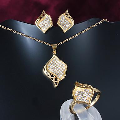 716e5453afca limitada la venta de joyería fina de oro chapado informal collar conjuntos  de collar de la joyería de la marca 4155557 2019 –  46.00