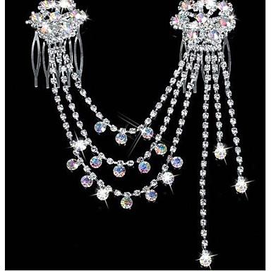 povoljno Nakit za kosu-Žene Zabava Umjetno drago kamenje Glina Imitacija dijamanta Nakit za kosu Jednobojni / Legura