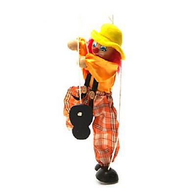 preiswerte Marionetten-Marionettenspielzeug bunte Clownpuppe Eltern-Kind-interaktive Spielzeuge (weitere Farben)