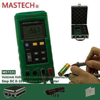 levne Testovací, měřící a kontrolní vybavení-MASTECH ms7221- napětí měřiče proudu - signál zdroj 10V napětí 24 mA proudový zdroj signálu