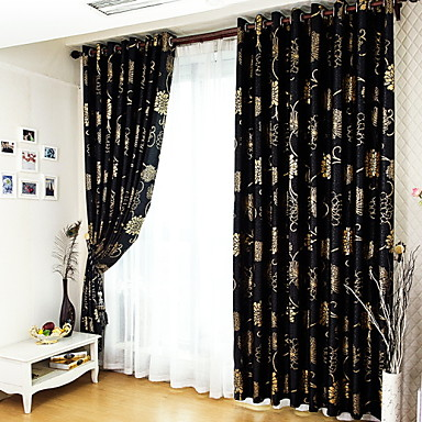 blackout curtains drapes living room polyester print 4249192 2018