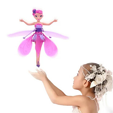 cheap Outdoor Fun & Sports-RC Helicopter Hovering Angel 2ch Hover / Remote Control Remote Control / RC / Flying Fairy Princess / Rainbow light