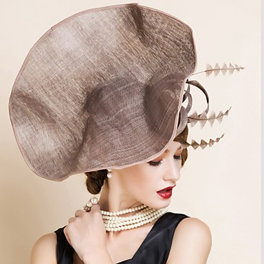 e69bf32d Women's Flax Headpiece - Wedding / Special Occasion Hats 1 Piece 4338831  2019 – $43.99