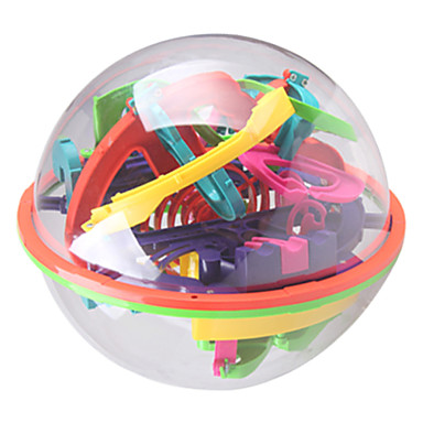 cheap Maze & Sequential Puzzles-Hot Toys Intelligence Magic Ball 3D Track Ball Maze 138 Level Toys For Children Educational Toys Fun Gifts For Children