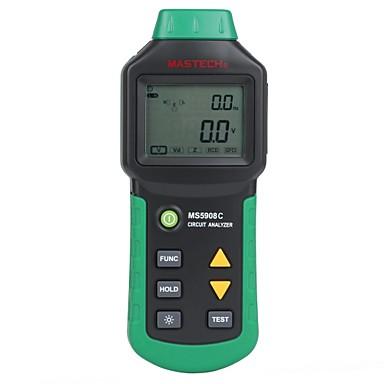 voordelige Test-, meet- & inspectieapparatuur-mastech - ms5908c - Digitaal scherm - Klemmeters -