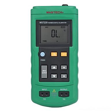 levne Testovací, měřící a kontrolní vybavení-MASTECH ms7220- termočlánku Kalibrátor - teplota kalibrátoru - analogový výstup mv termočlánek zdroj signálu