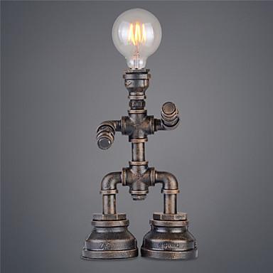 Skrivbordslampor - Traditionell/Klassisk / Rustik - Ark - Metall