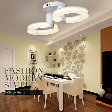 Ceiling Light LED Modern Contemporary Bedroom Dining Room Kitchen Study Office Hallway Metal 2 Lights 4259036 2017 9759