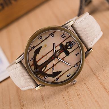 preiswerte Klassische Uhren-Damen Uhr Armbanduhr Quartz Gestepptes PU - Kunstleder Analog Charme Klassisch Modisch Grün Blau Rosa / Ein Jahr / Edelstahl / Ein Jahr / SSUO 377
