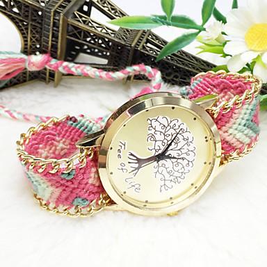 povoljno Ženski satovi-Žene Modni sat Kvarc Analog # 8 9 # # 10 / Nehrđajući čelik