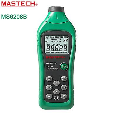 Mastech-ms6208b- kontaktvarvräknare hastighet meter linje fotoelektrisk varvräknare med bakgrundsbelysning + datalagring