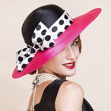Polyester Kentucky Derby Hat / hattar med 1 Casual / Utomhus Hårbonad