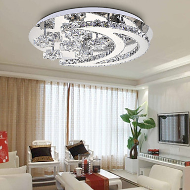New Crystal Bedroom Modern Minimalist Living Room Ceiling Lamp LED Circular  Restaurant Lighting Moon And Stars 4295113 2018 U2013 $174.79
