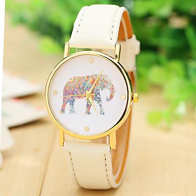 dámské módy slon hodinky kožený řemínek hodinky pro ženy oblékat hodinky  křemenný hodinky 4312964 2019 –  6.99 e4ec82d2a7
