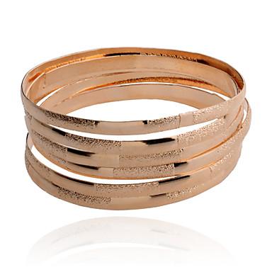 preiswerte Armreifen Armband-Damen Armreife damas Aleación Armband Schmuck Silber / Golden Für Party Alltag Normal
