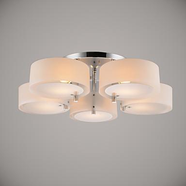 Modern Ceiling Lights Hallway : Ecolight flush mount modern contemporary lights ceiling