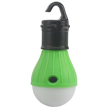 Lyktor & Tältlampor LED - utsläpps 10 lm 1 Belysning läge Nödsituation Camping / Vandring / Grottkrypning Utomhus Grön