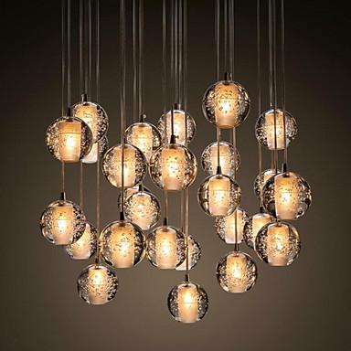 UMEI™ Klunga Hängande lampor Glödande Krom Metall Kristall 90-240V Varmt vit Glödlampa inkluderad / G4