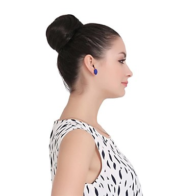 voordelige Synthetische extensions-Klassiek / Recht Knot Synthetisch haar Haar stuk Haarextensies Klassiek / Recht Dagelijks 22-613 / 27-613 / 30