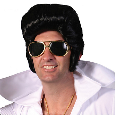 factory direct sale elvis presley wig wholesale black men short wigs  special supply elvis presley wig 4441614 2019 –  27.68 4345c5eec684
